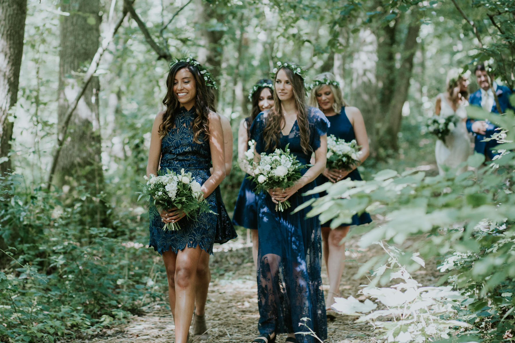 20 bridesmaids Paper Mill outdoor wedding Kent.jpg