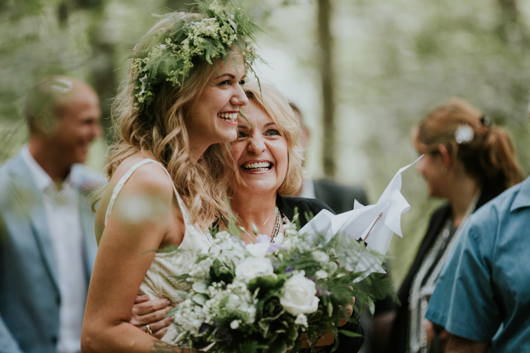 58 guest congratulating bride woodland Kent.jpg