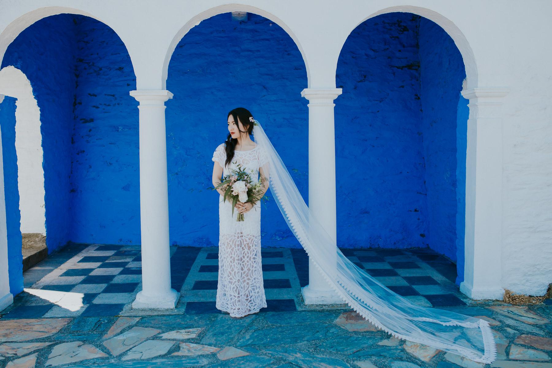 629 bride Shaina wedding portrait Portmeirion.jpg