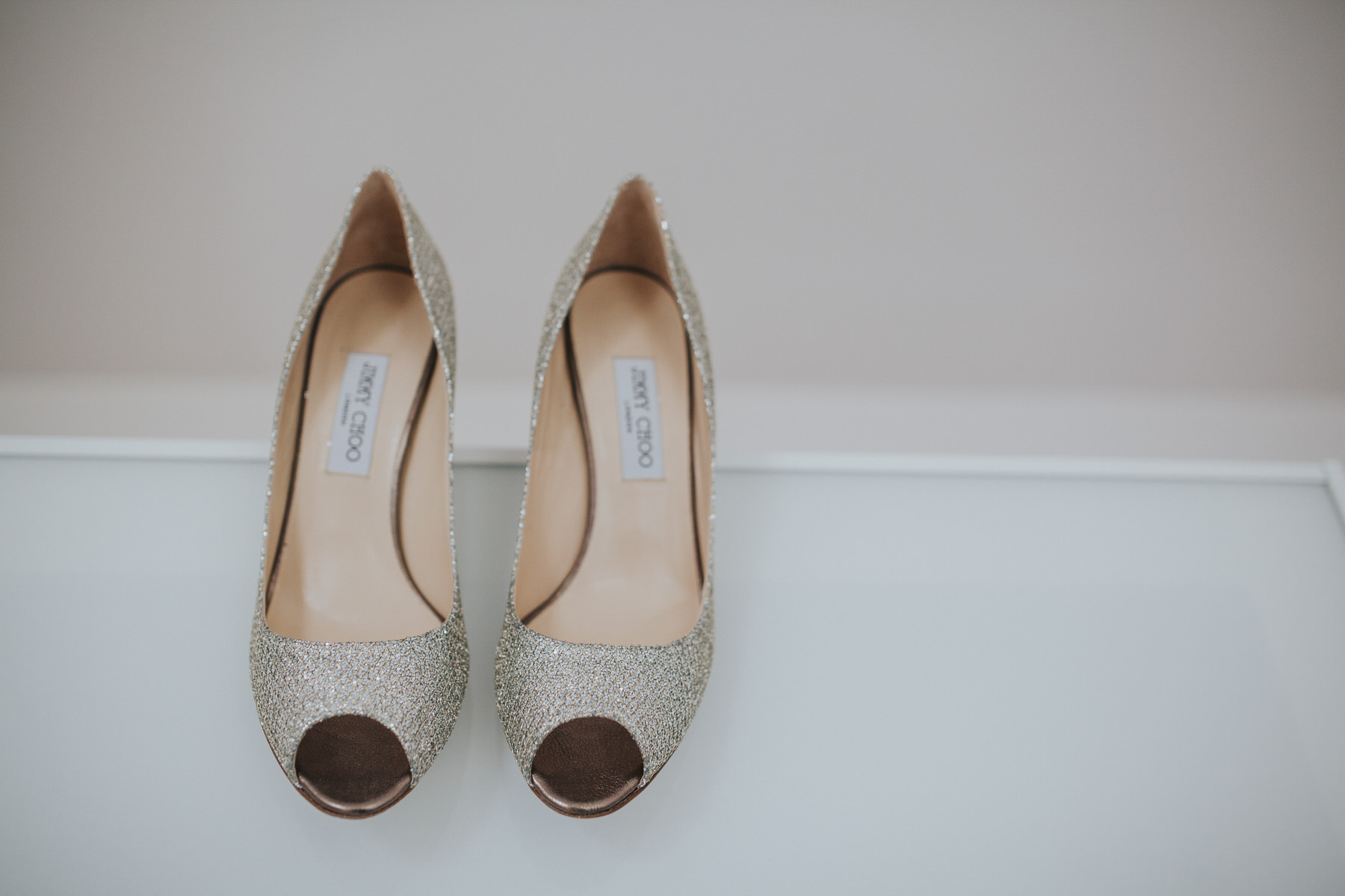 26 gold Jimmy Choo  wedding heels Yolande De Vries Photograph.jpg