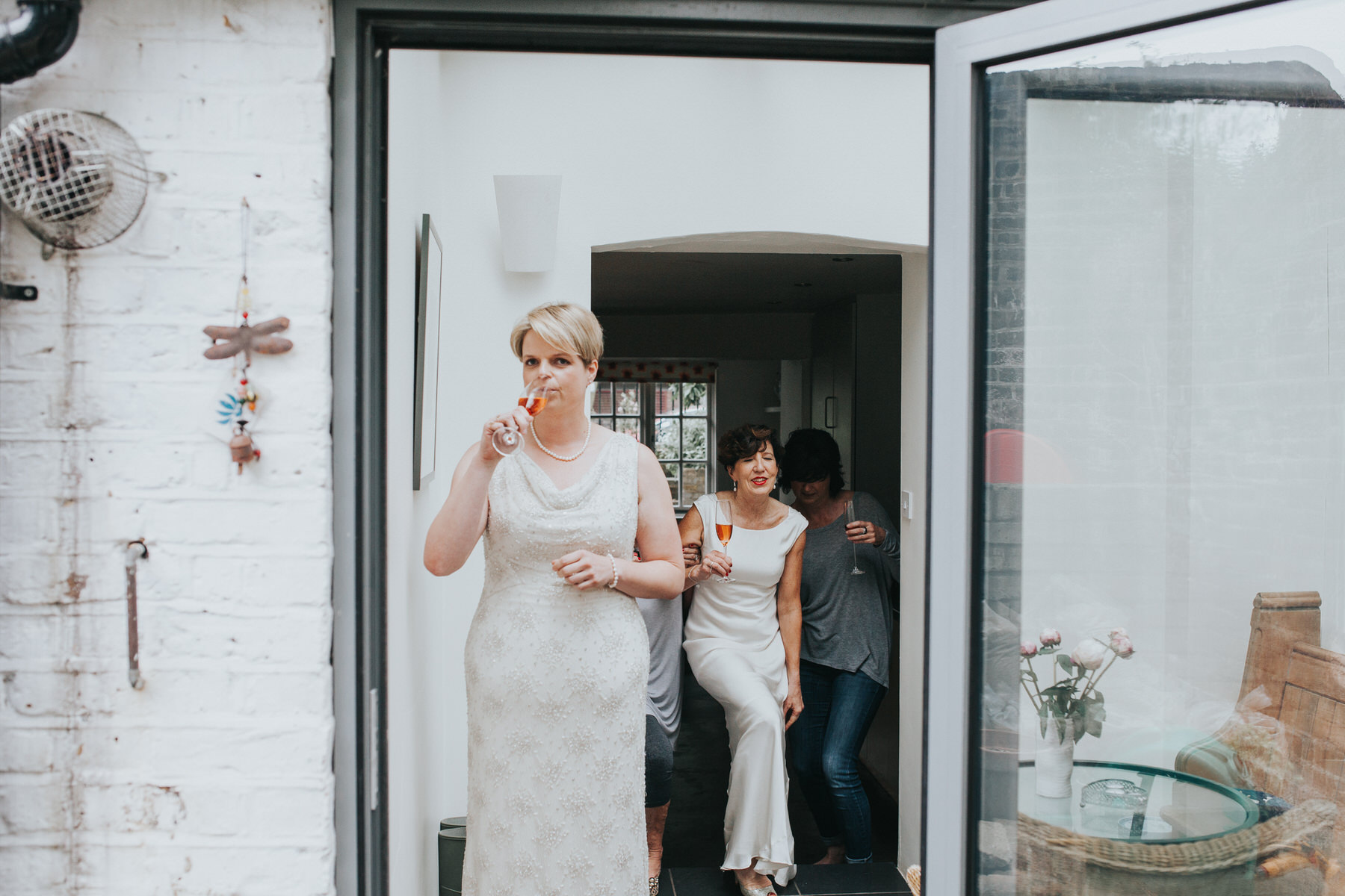 46 two brides first look London photographer.jpg