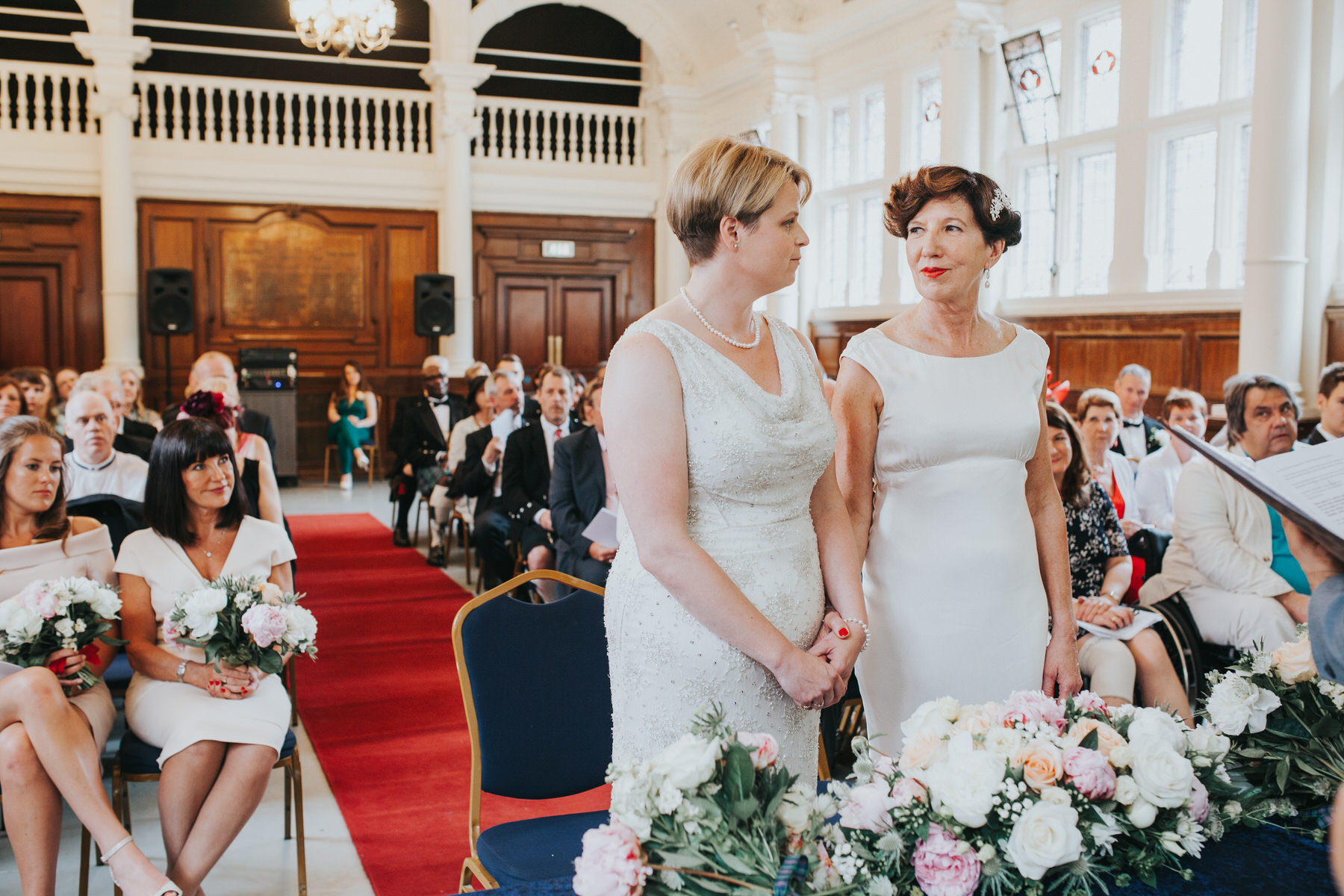 99 same sex wedding Finsbury Town Hall wedding ceremony.jpg