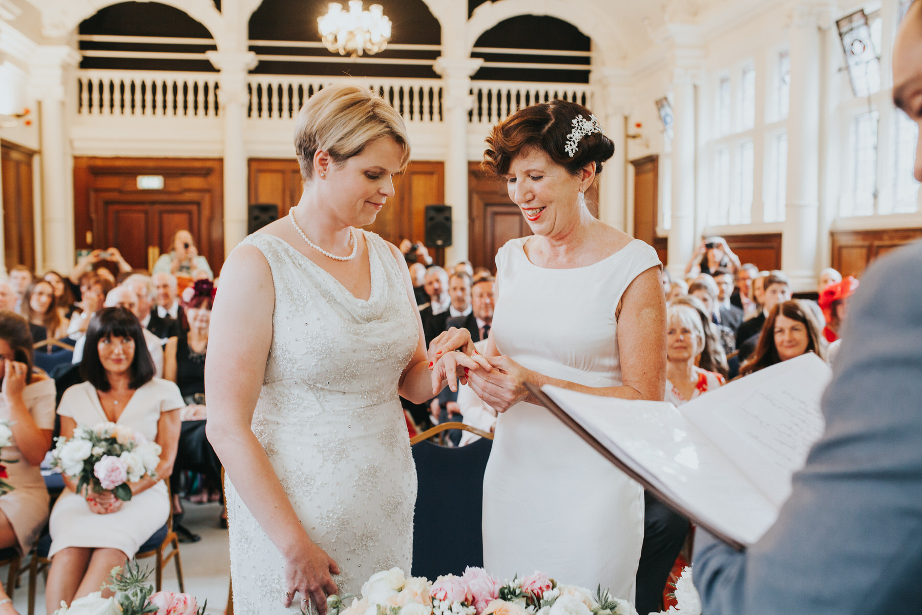 108 Islington documentary wedding ceremony two brides.jpg