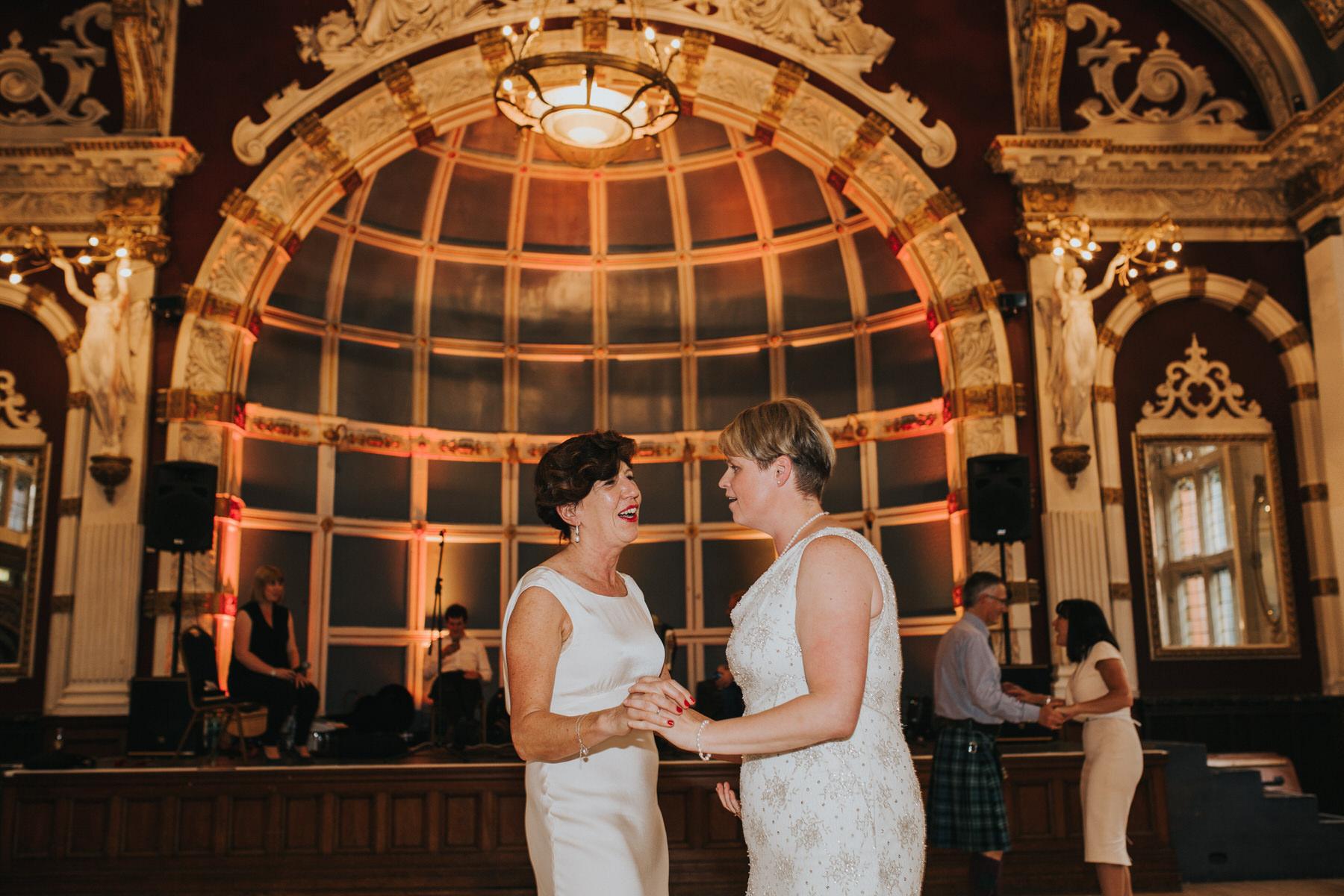 267 same sex wedding first dance Finsbury Town Hall.jpg