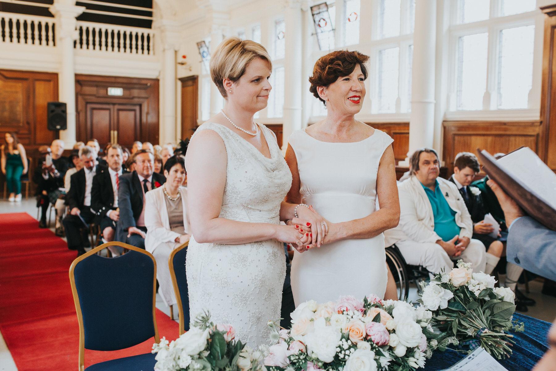112 Finsbury Town Hall samesex wedding ceremony two brides.jpg