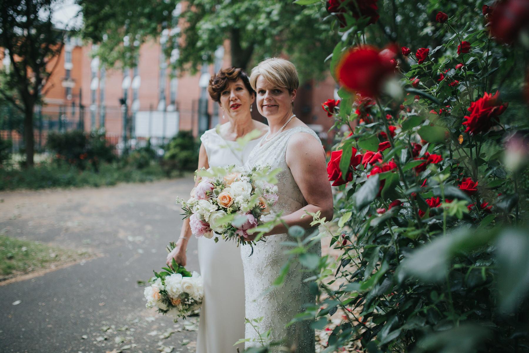 177 London documentary wedding photographer two brides couple portraits.jpg