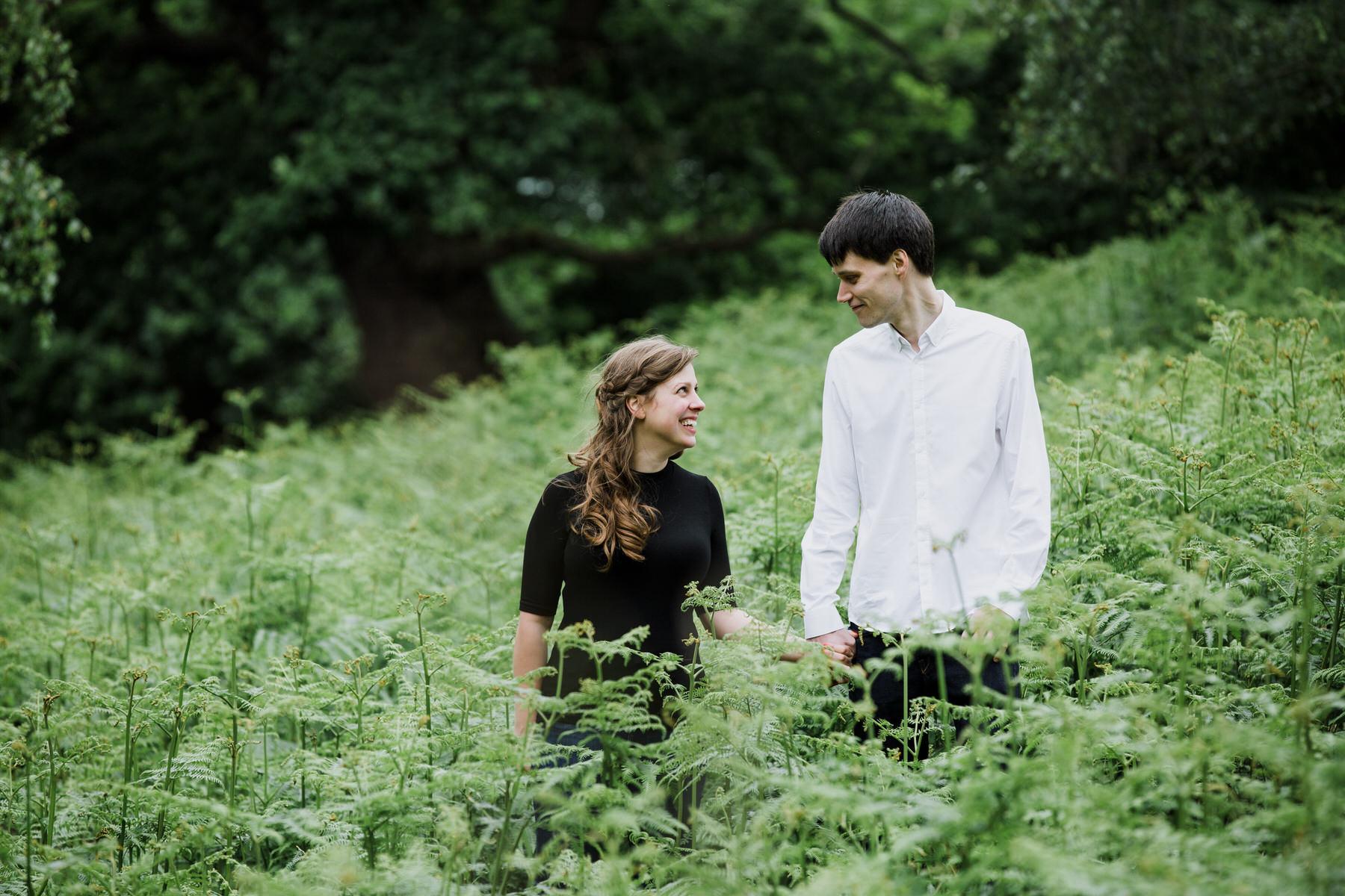 2-London natural couple portrait photographer giant fern_.jpg
