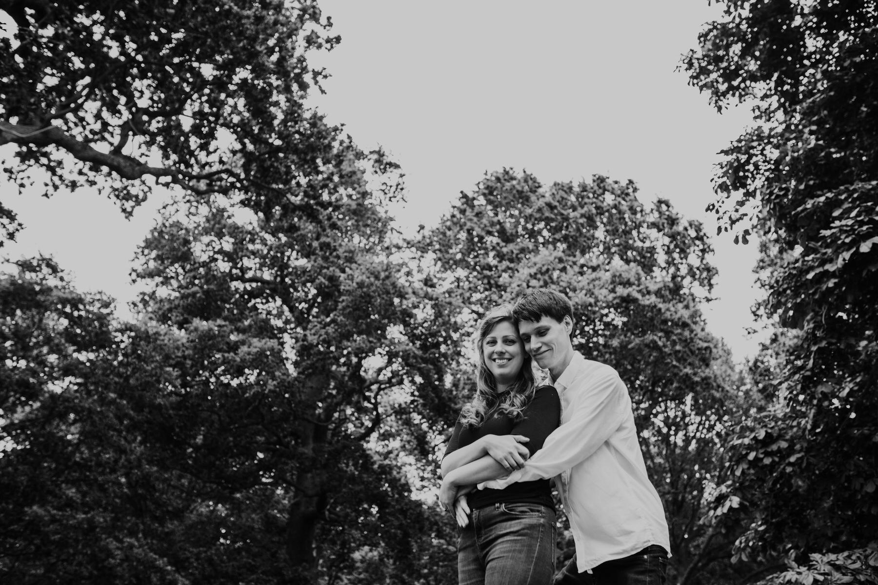 28-romantic London forest engagement shoot.jpg