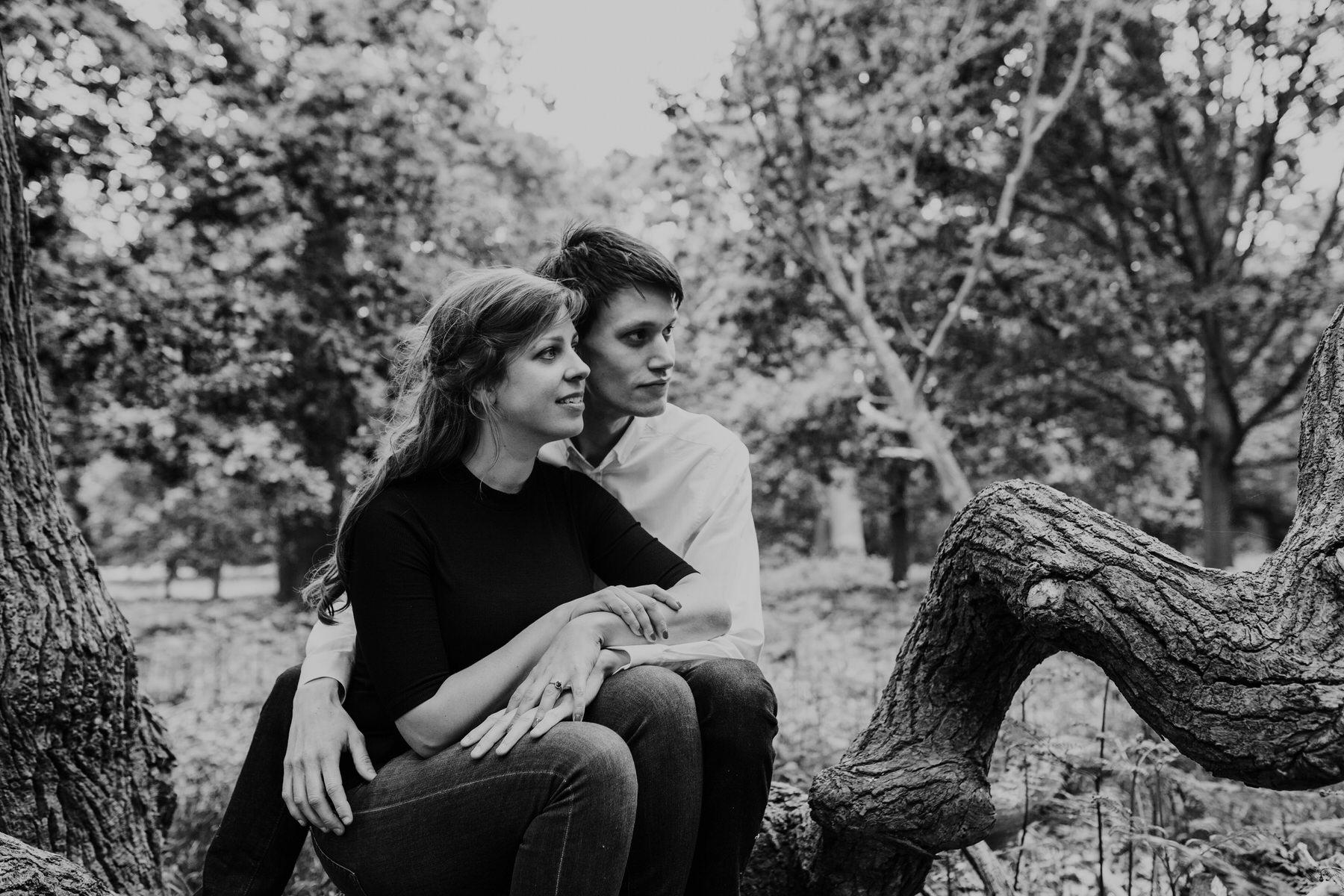 35-romantic London forest engagement shoot.jpg
