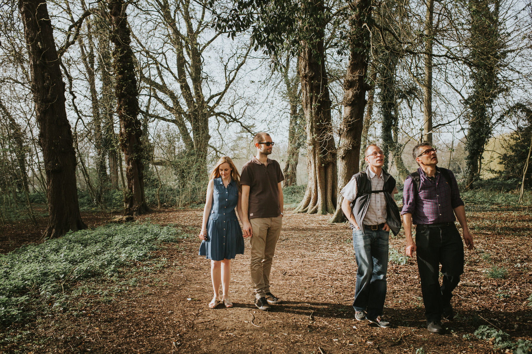 6- couple during forest engagement shoot London.jpg