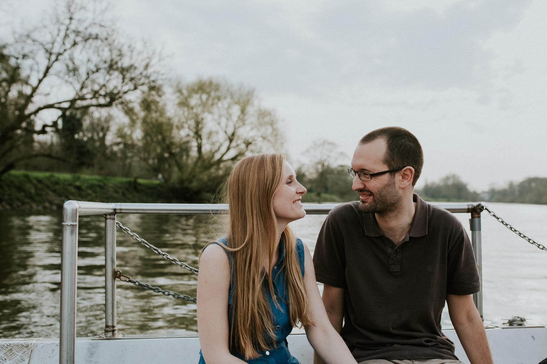 63-romantic ferry ride Thames engagement photography.jpg