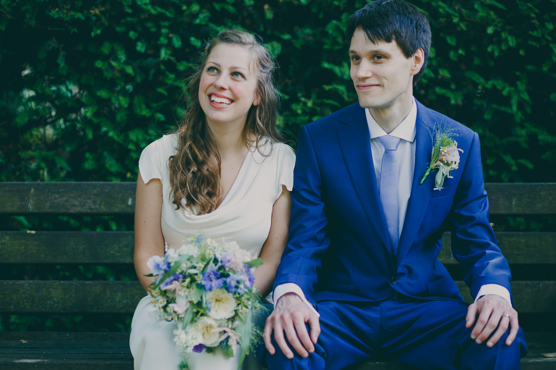 41 wedding couple portraits bench Ghost dress York House Kingston.jpg