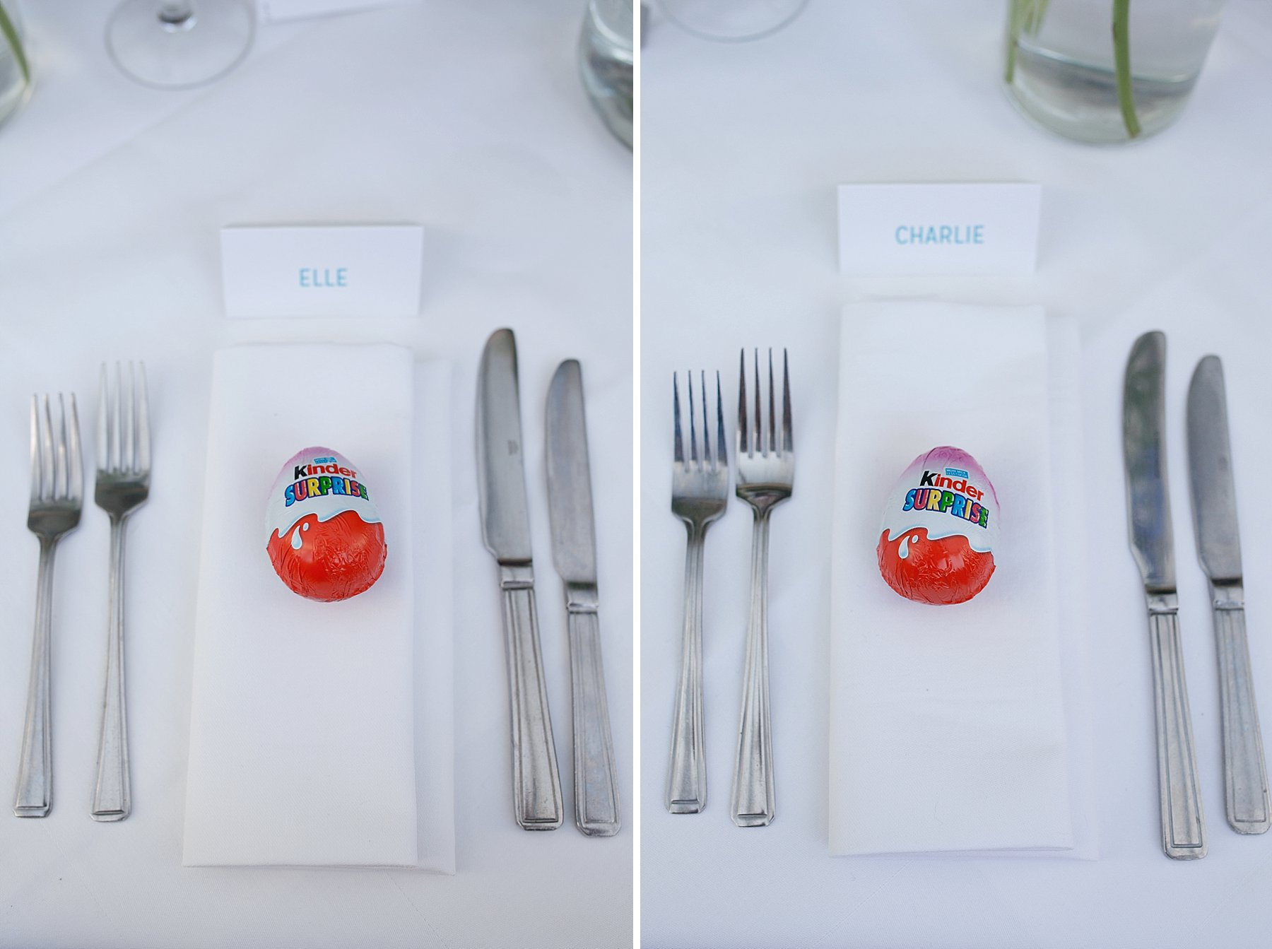 53 Kinder Egg favours Teddington wedding photographer.jpg