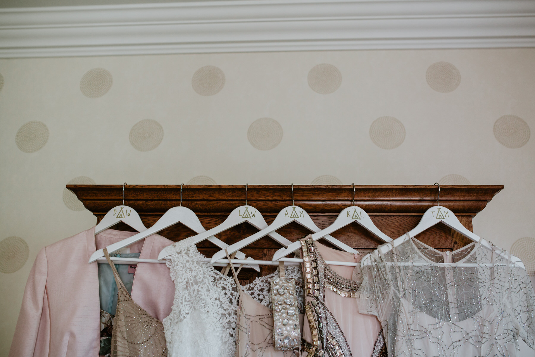 20 bridesmaids initials on hanger details Yolande De Vries Photography.jpg