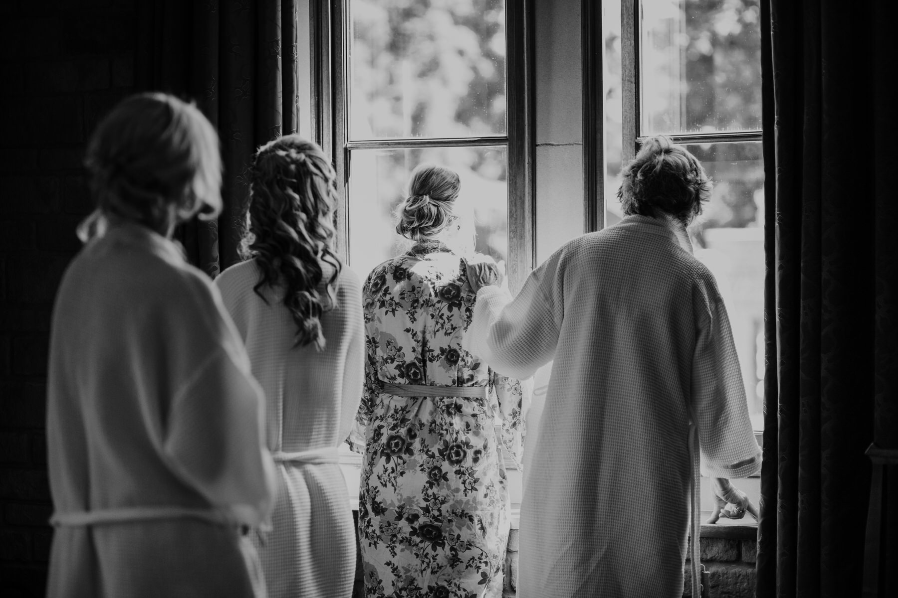 34 tender moment bride mum bridesmaids reportage wedding photographer.jpg
