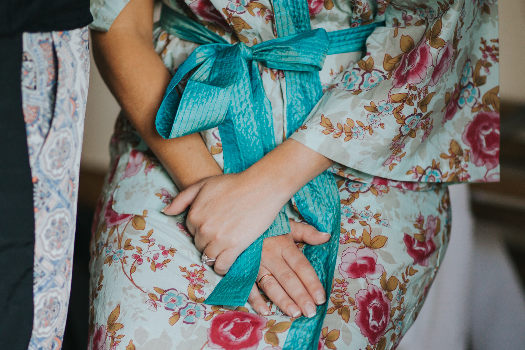 54 brides hands bridal prep still moment blue gown  Yolande De Vries Photography.jpg