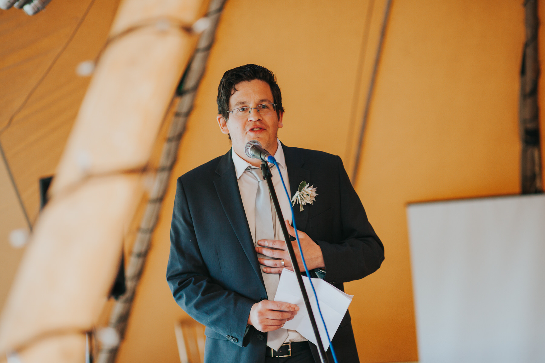 268 guest reactions speeches Knepp Castle documentary wedding photographer.jpg