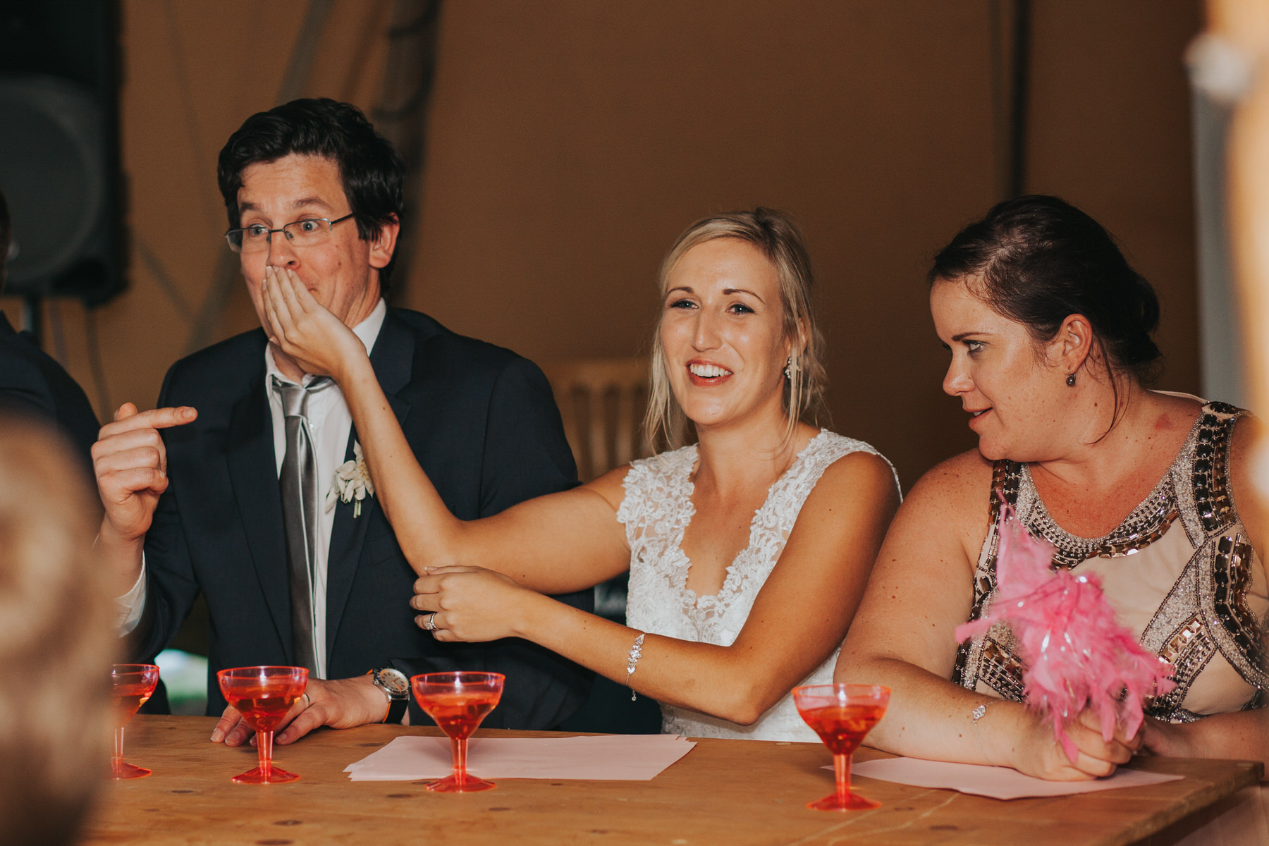 283 speeches drinking game Knepp Castle reportage wedding photographer.jpg