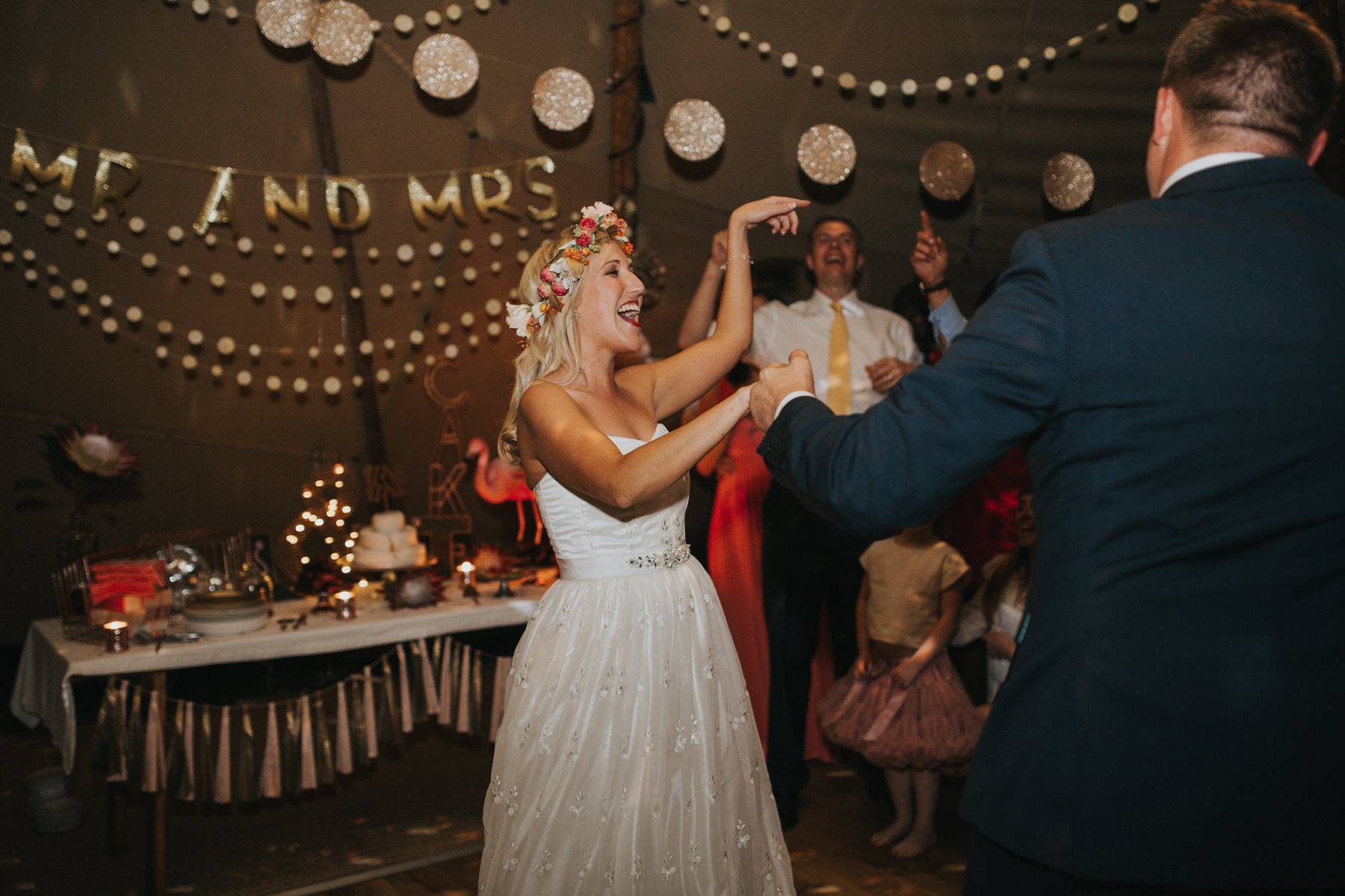 348 bride groom first dance tipi wedding London based documentary photographer.jpg