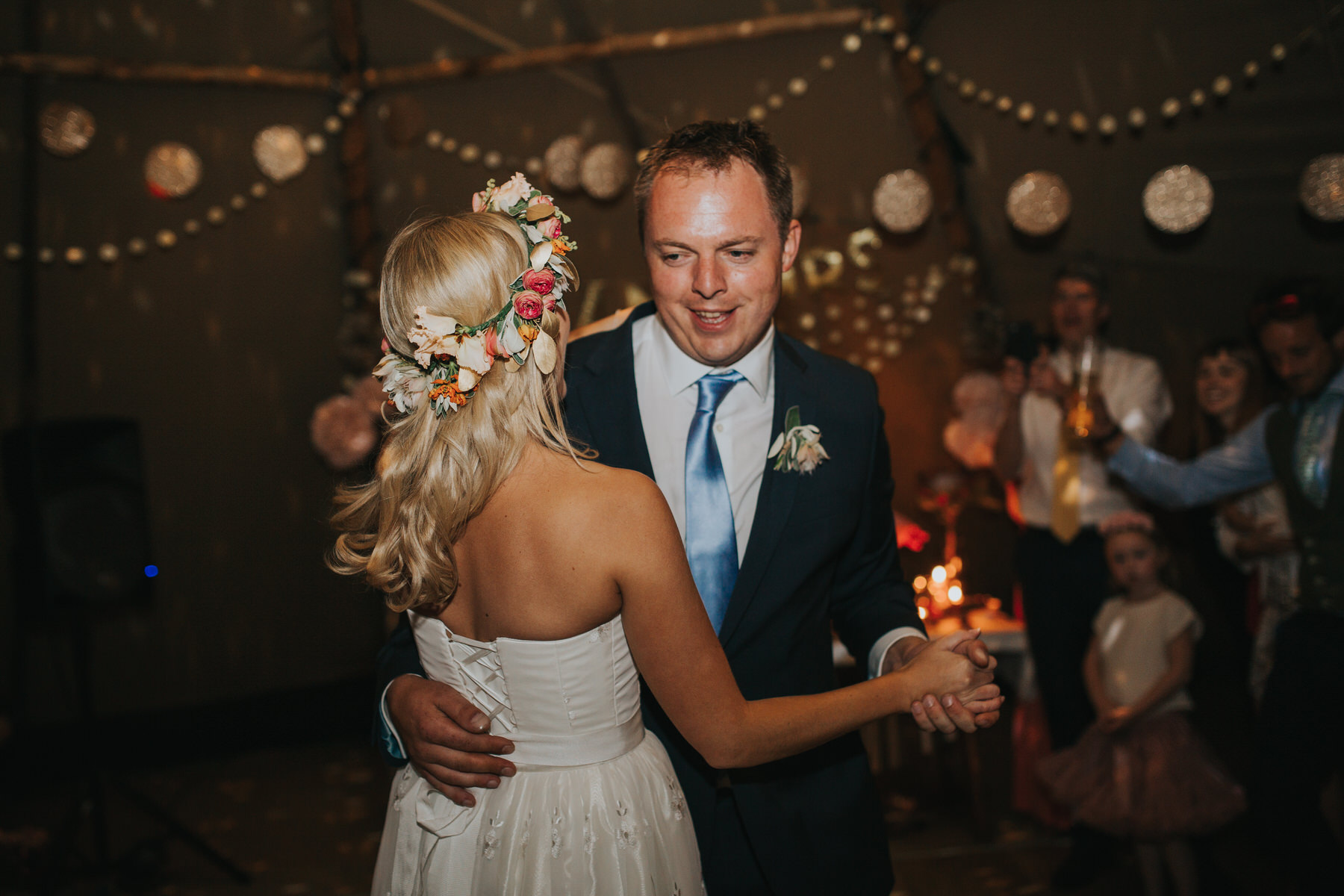 357 bride groom first dance tipi wedding London based documentary photographer.jpg