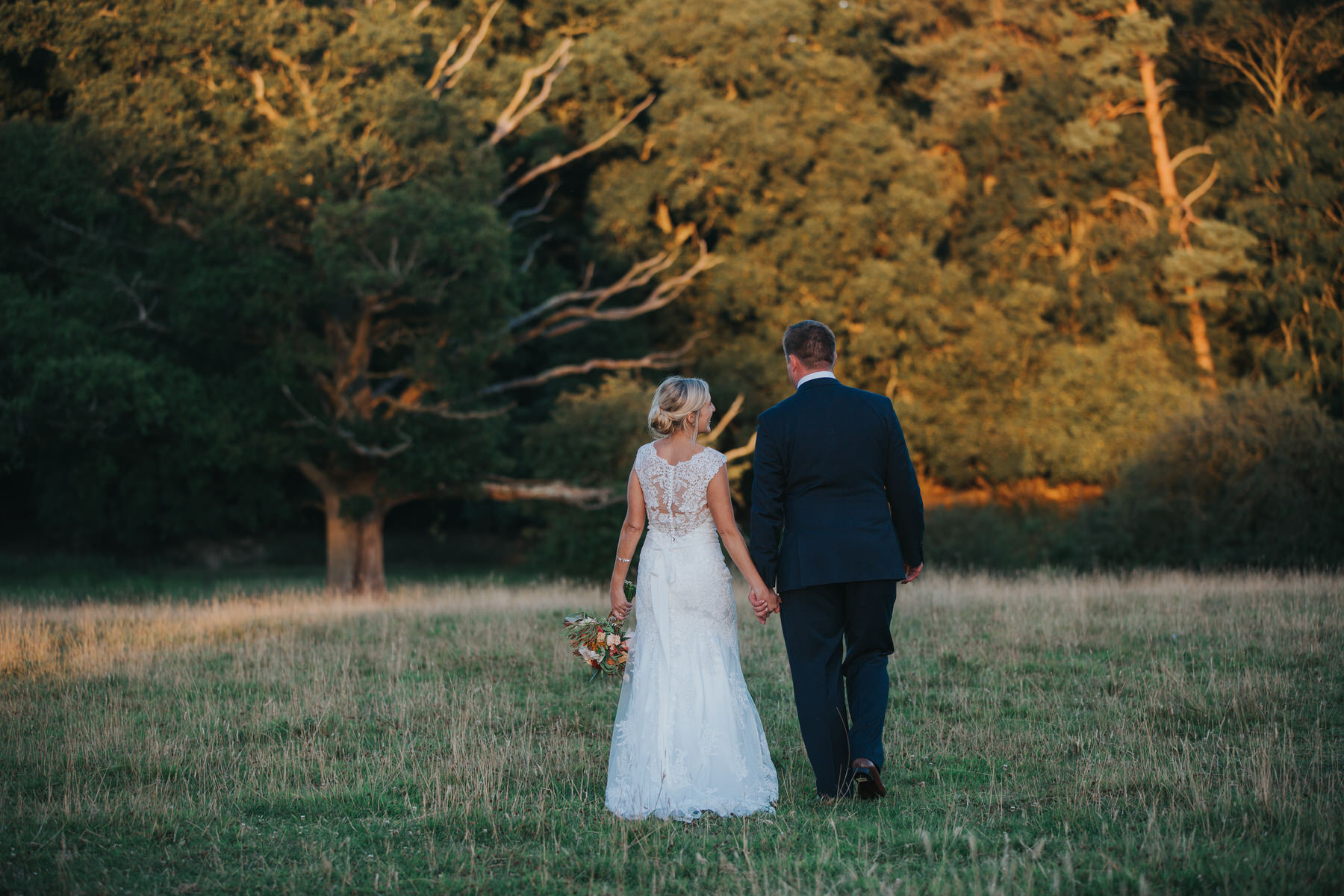 294 Lisa Tom golden hour bridal wedding portraits Knepp Castle.jpg