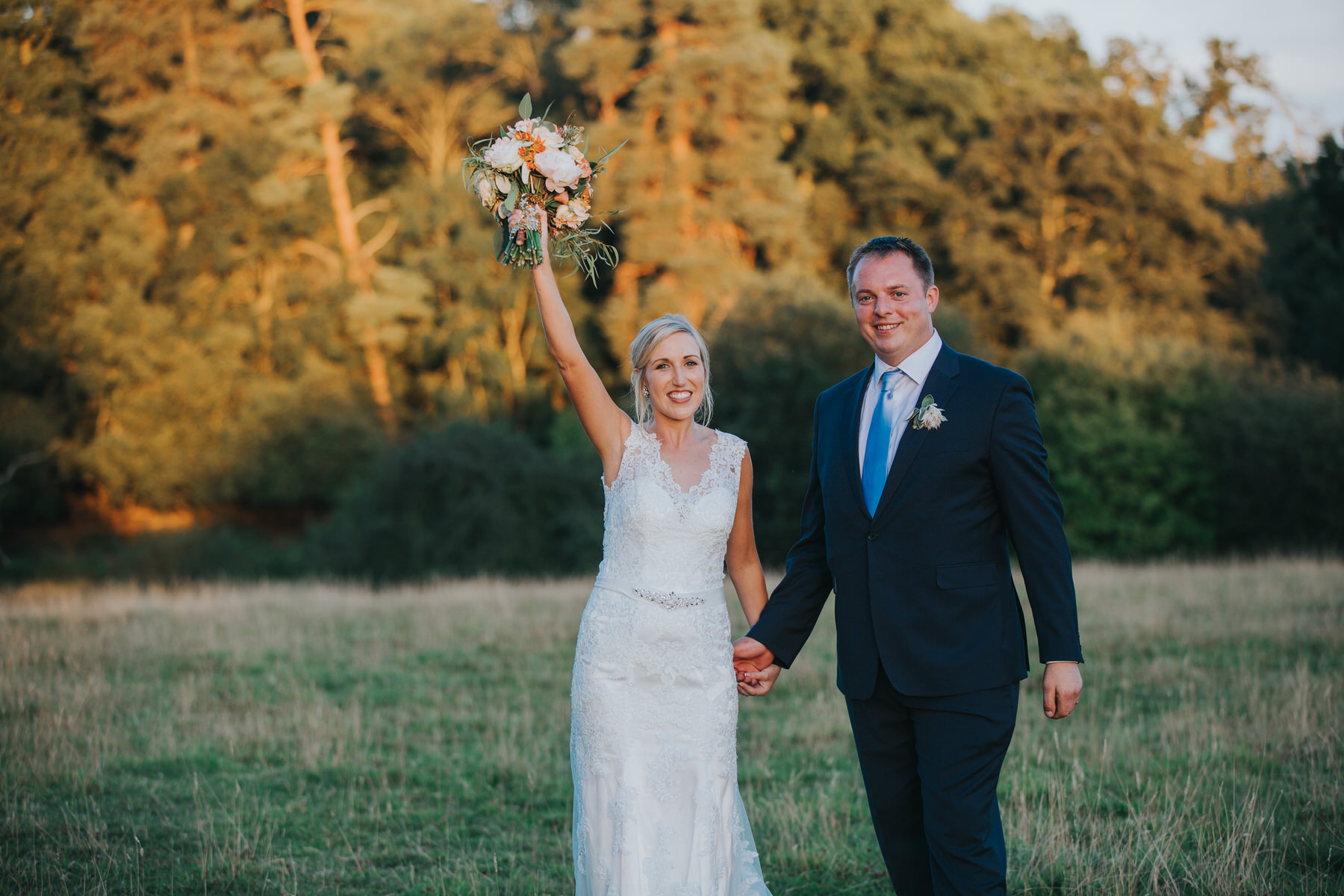 327 Lisa Tom golden hour bridal wedding portraits Knepp Castle.jpg
