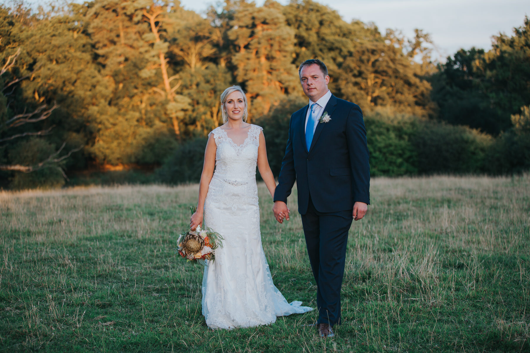 331 Lisa Tom golden hour bridal wedding portraits Knepp Castle.jpg