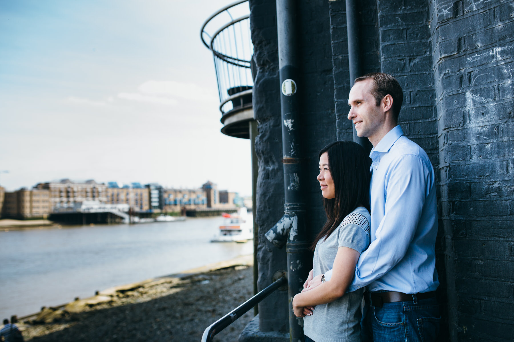 24 looking over Thames river engagement session London.jpg