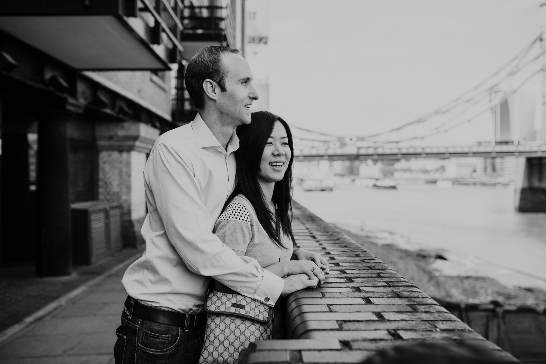 27 Chris Mariko look over Thames BW London engagement shoot.jpg