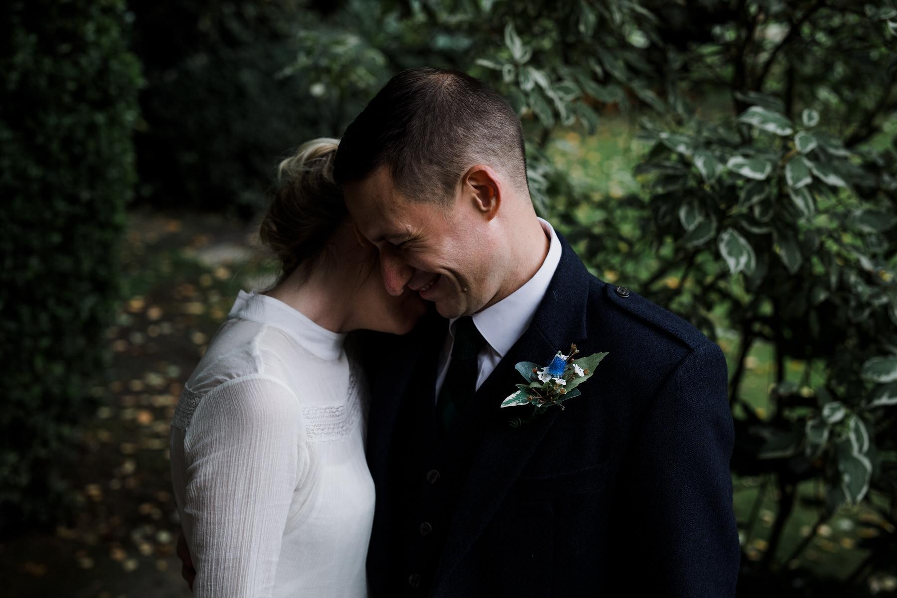 intimate moment just married bride groom.jpg