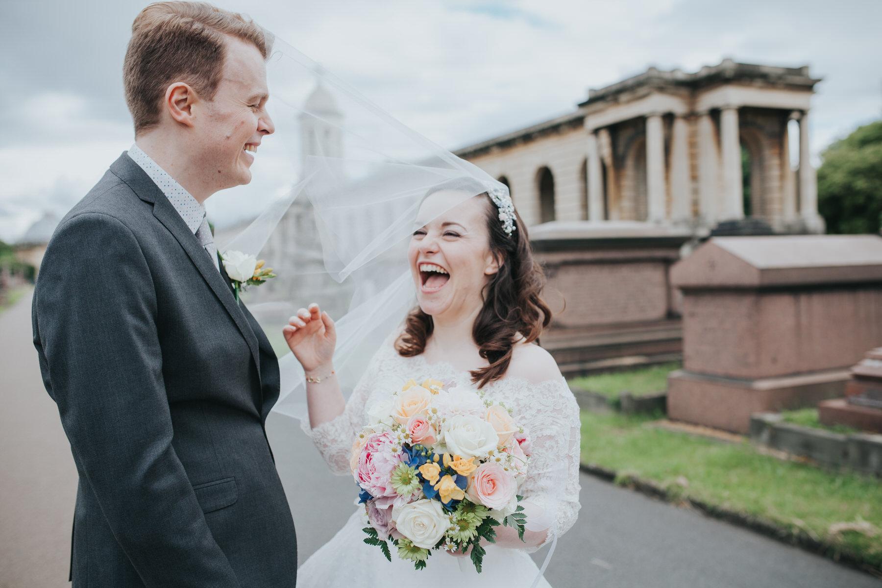 flyaway veil wedding portraits Brompton Cemetery.jpg