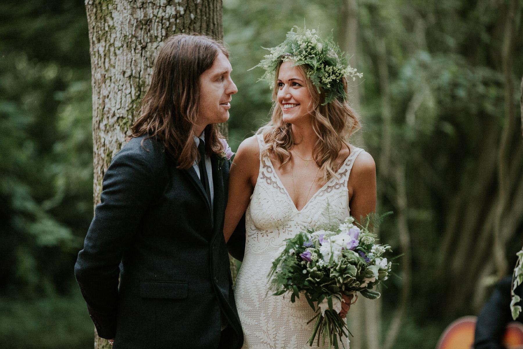 boho bride groom Paper Mill woodland wedding.jpg