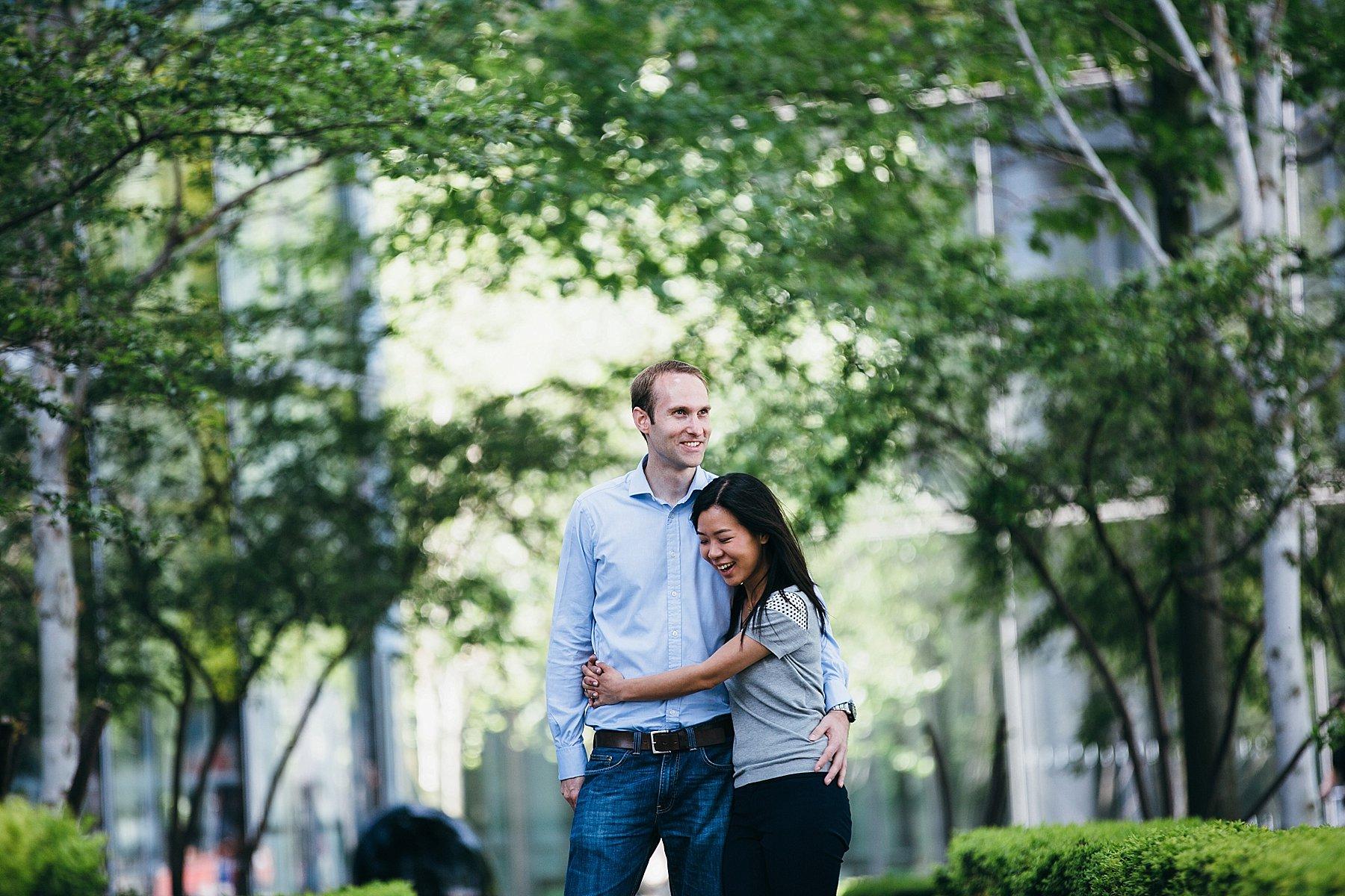 happy engaged couple London wedding photographer.jpg