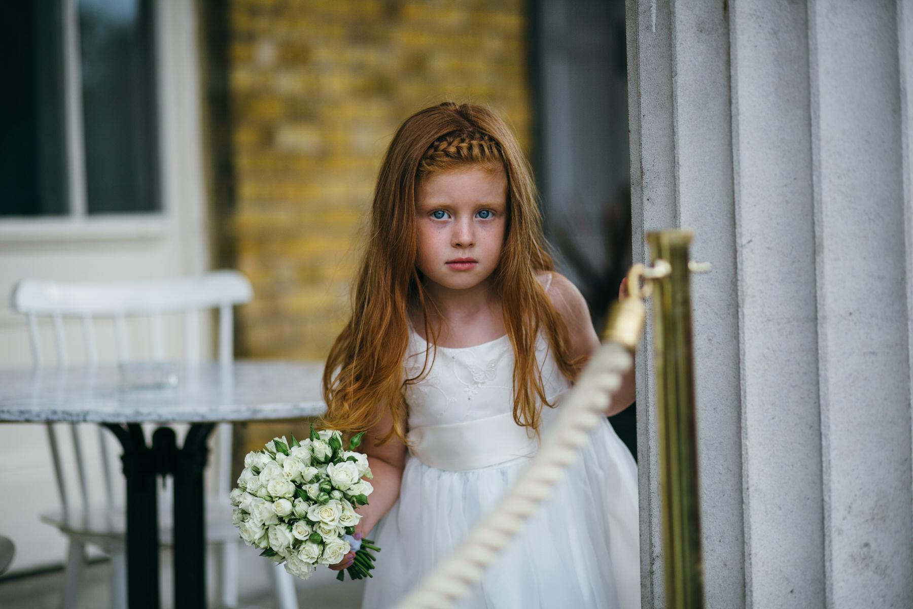 Clissold House flower girl Hackney wedding photo.jpg