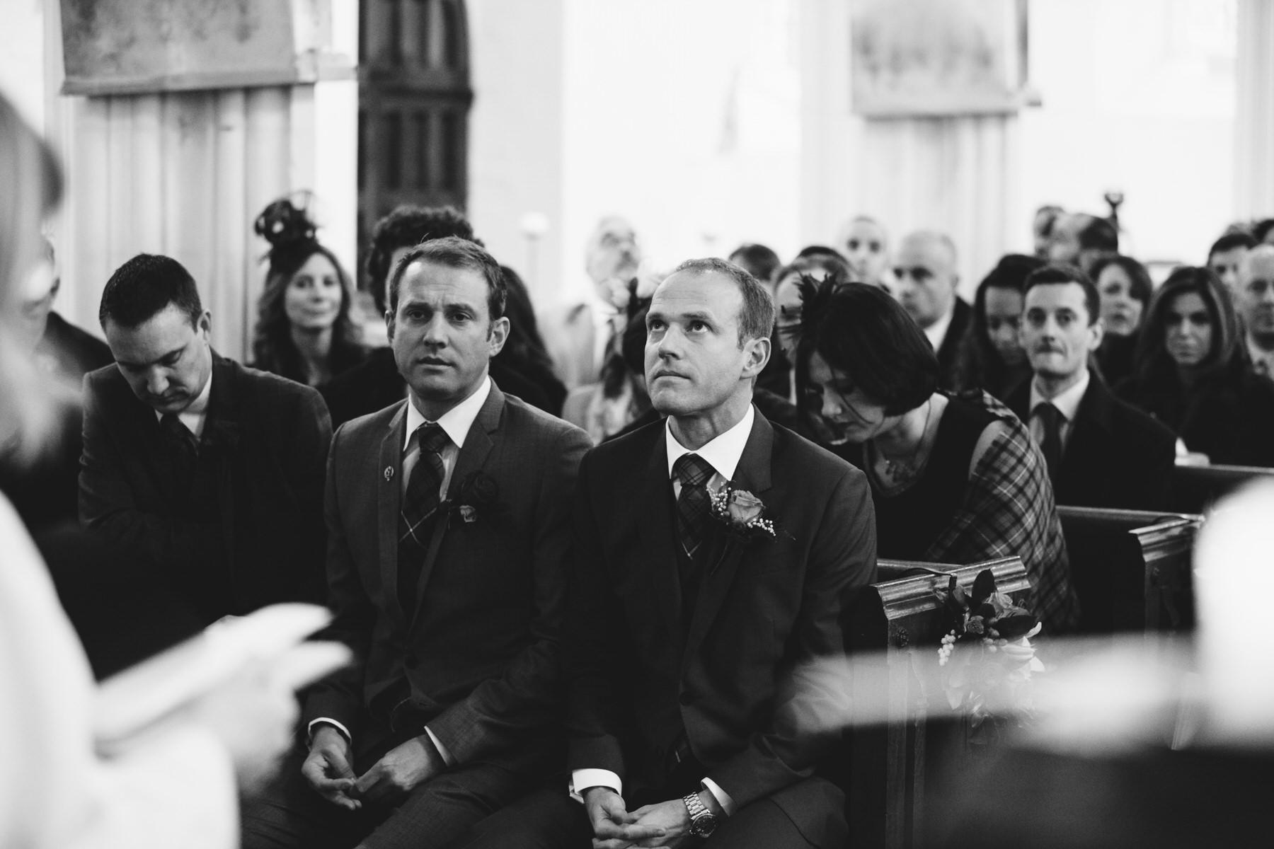 emotinal groom waiting bride Knebworth wedding.jpg