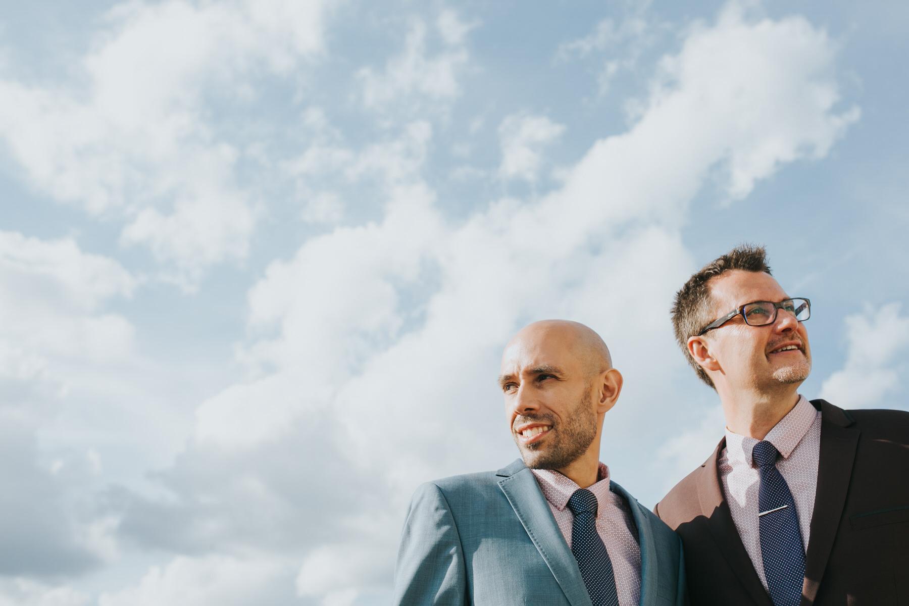 creative couple portrait London Same-Sex Wedding.jpg
