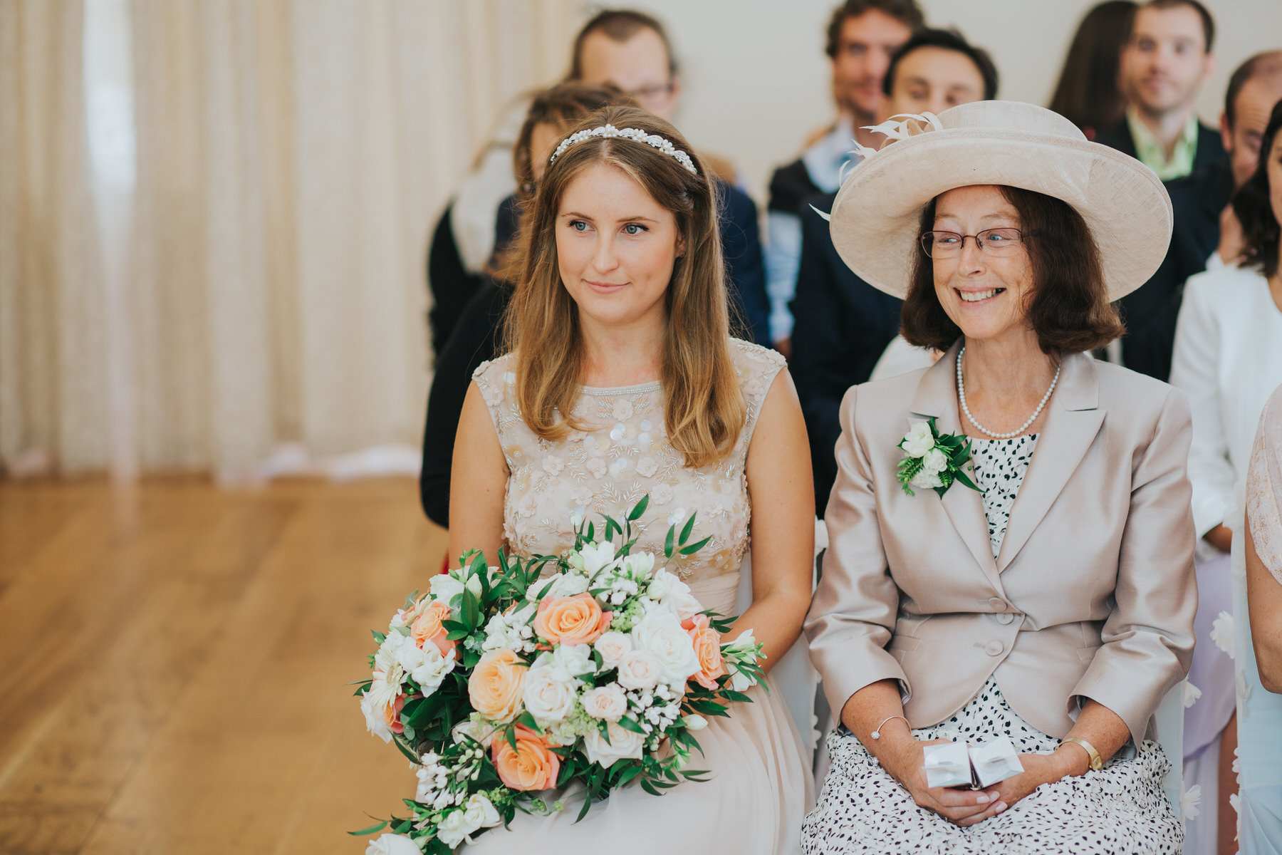 49 bridesmaid mum Pembroke Lodge wedding reportage.jpg