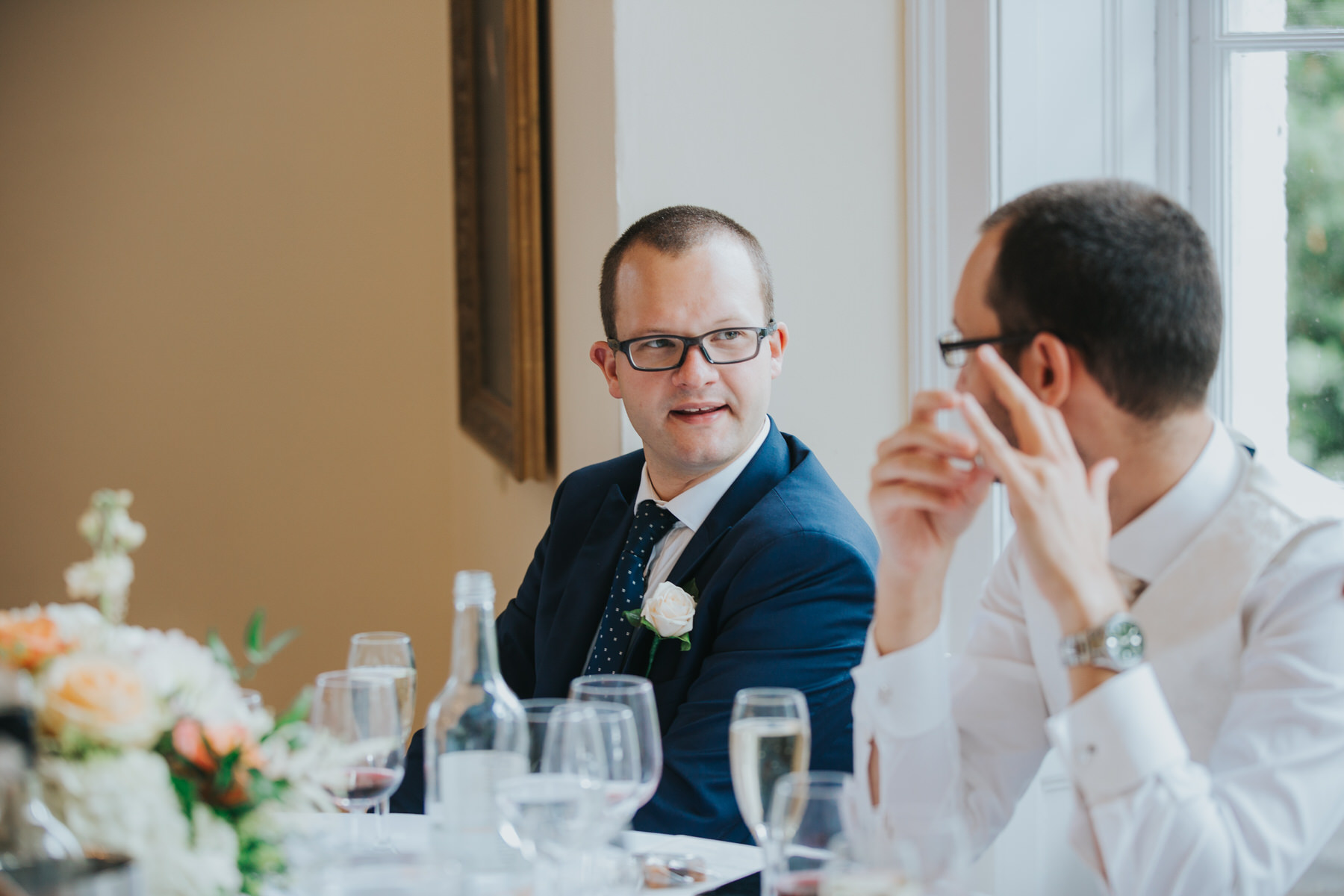 325-wedding breakfast guest reportage Pembroke Lodge.jpg