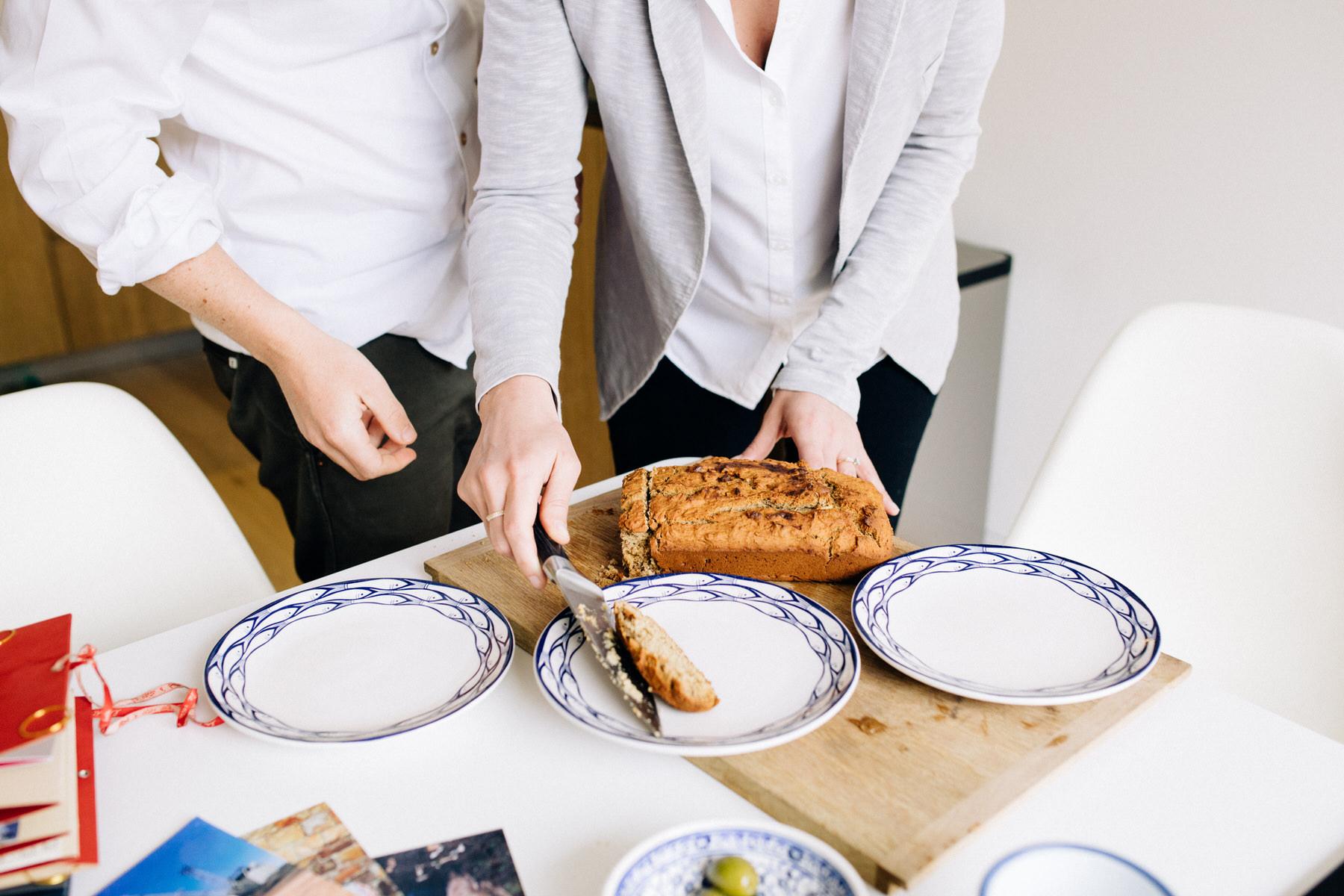 82 baking banana bread engagement session at home London.jpg