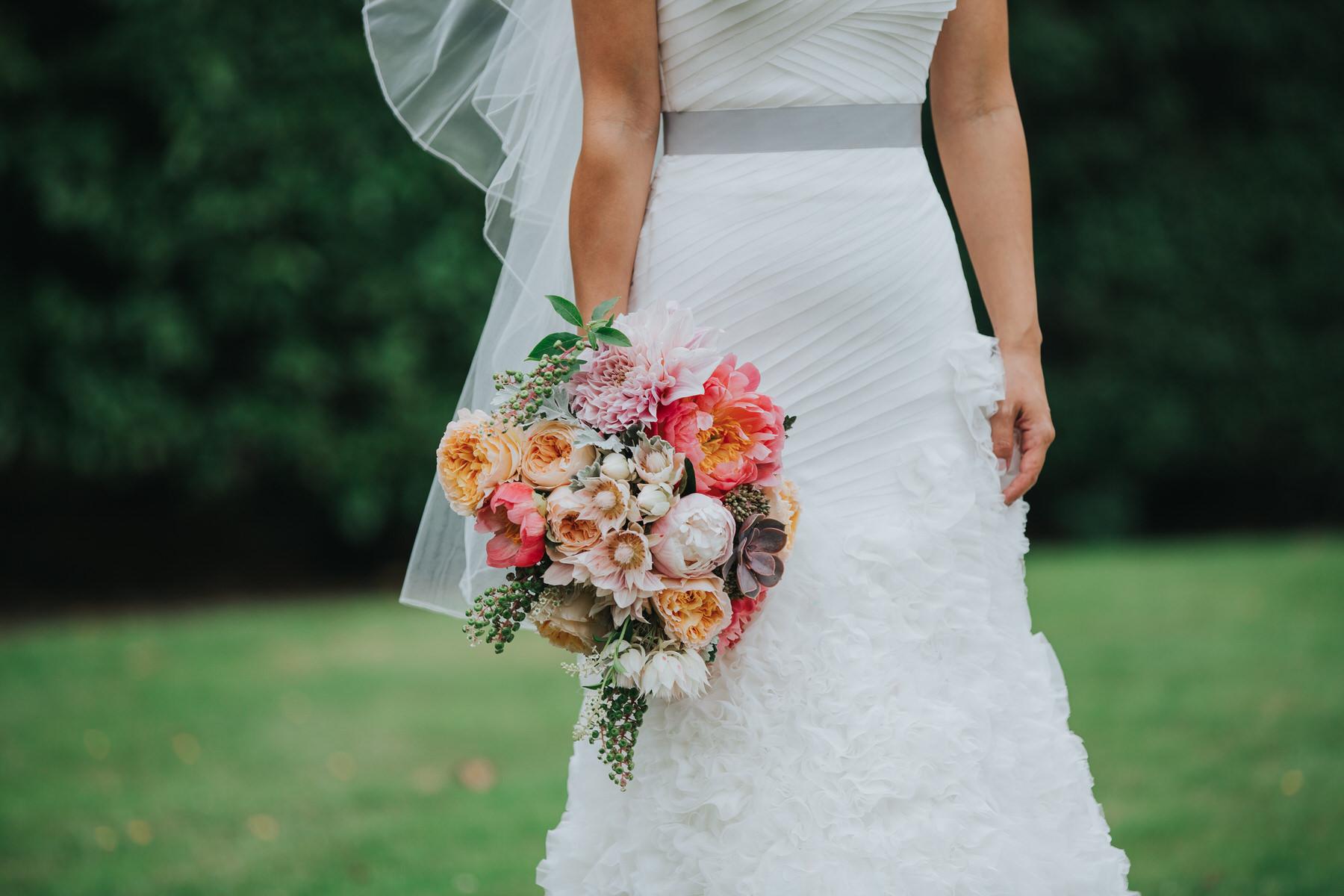 339 Enzoani dress peonie succulent bouquet photo.jpg