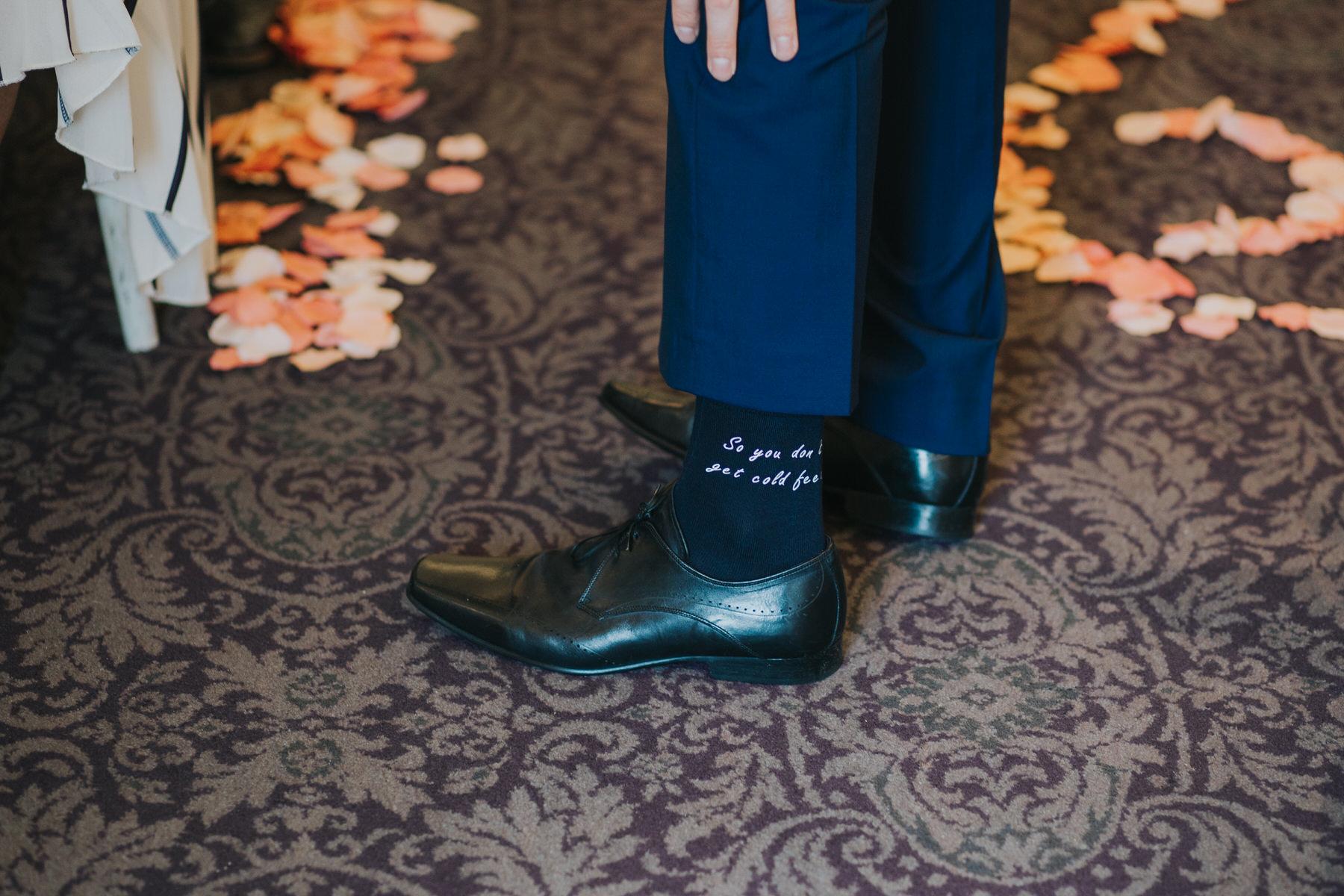 157  so you don't get cold feet grooms blue socks.jpg
