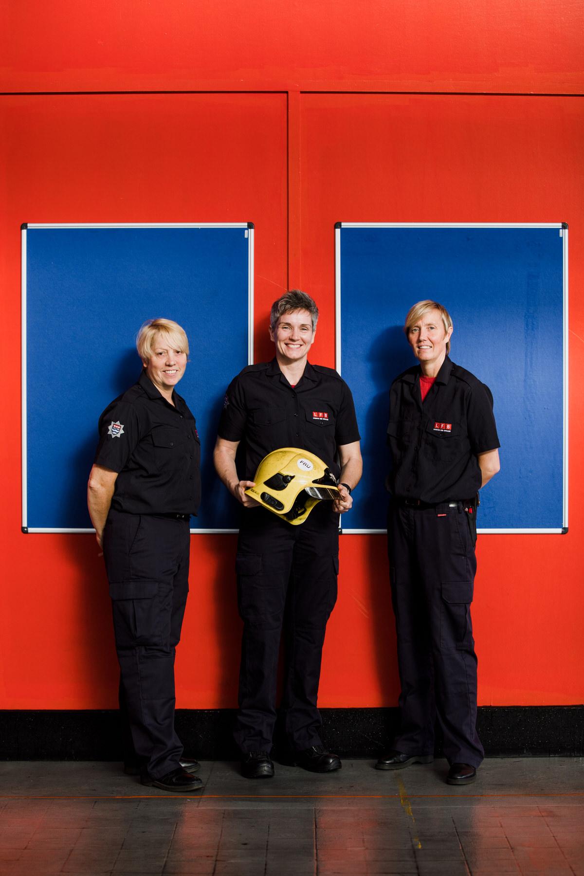 5  CROYDONLIVES exhibition Croydon Boxpark Yolande De Vries Photography Firewomen London Fire Brigade.jpg