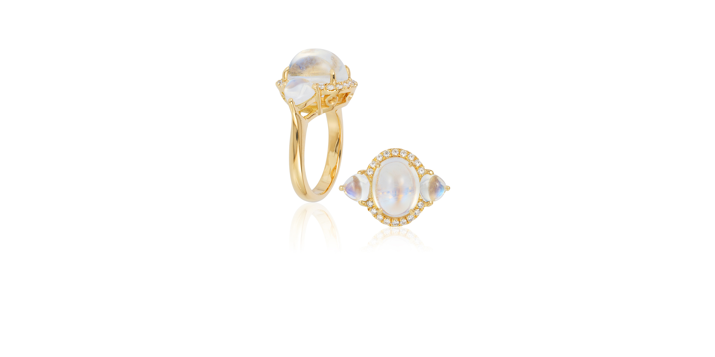 BLUE MOONSTONE RING