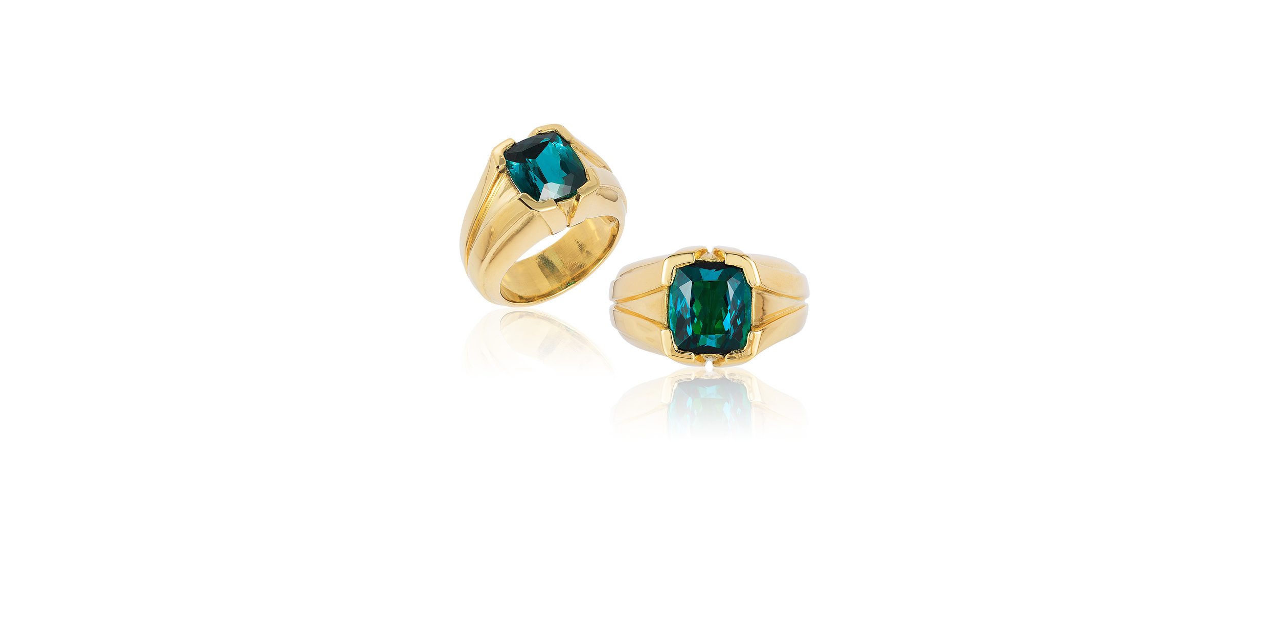 TOURMALINE MEN'S RING