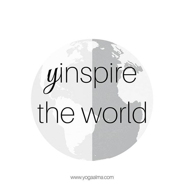 Yinspire the world! ☯️✌🙏