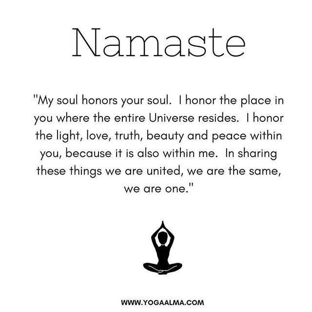 Namaste, have a wonderful day! 🙏