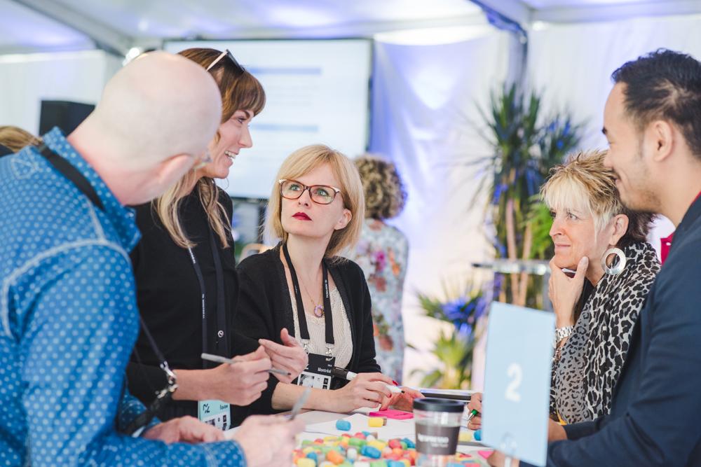 Workshop en Design Thinking avec la fondation Kanpe  © Maude Touchette Photographe
