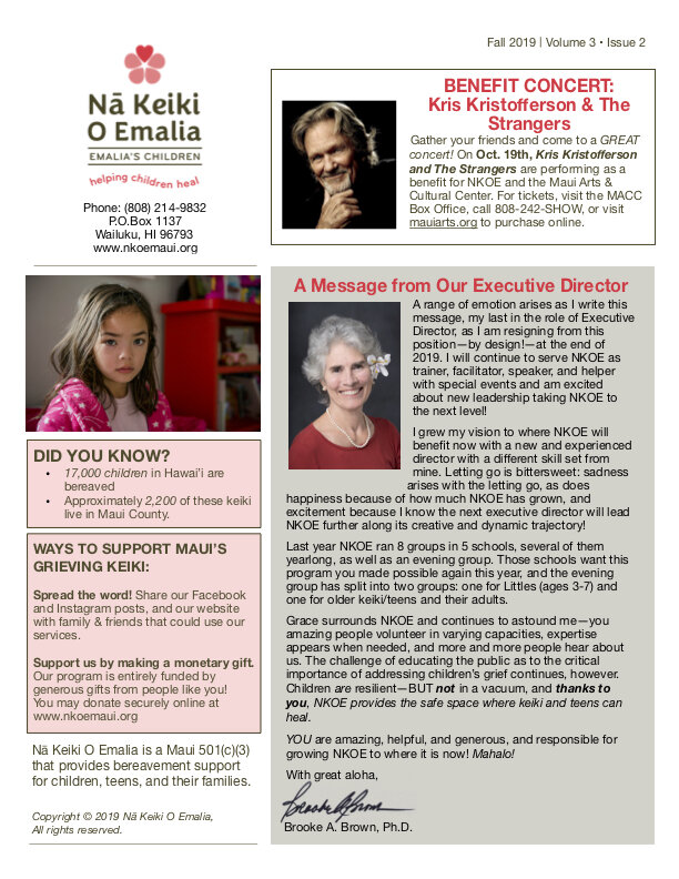 Click on the image above to download a PDF of the two-page newsletter.