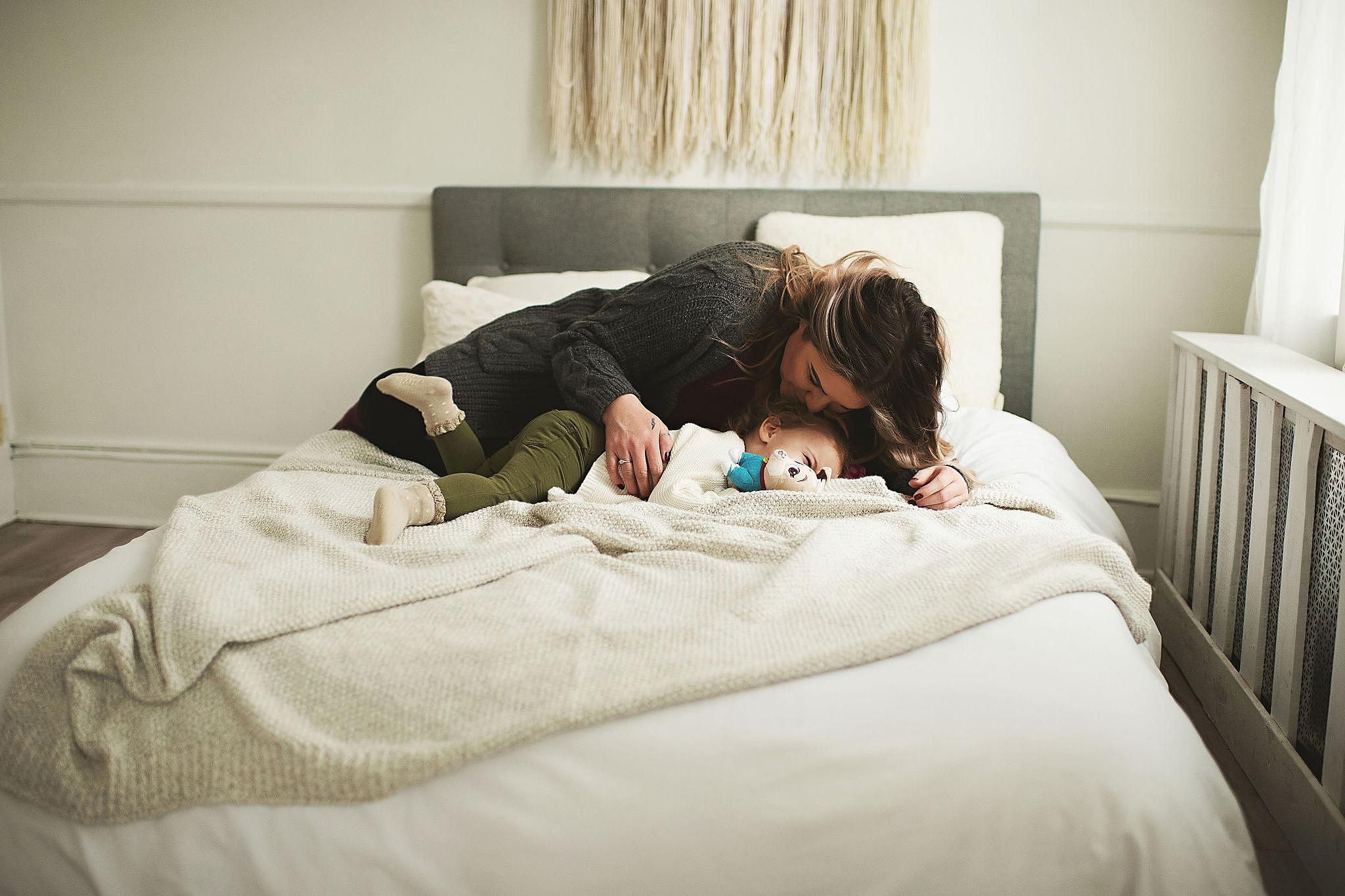 motherhood session Howell, mi