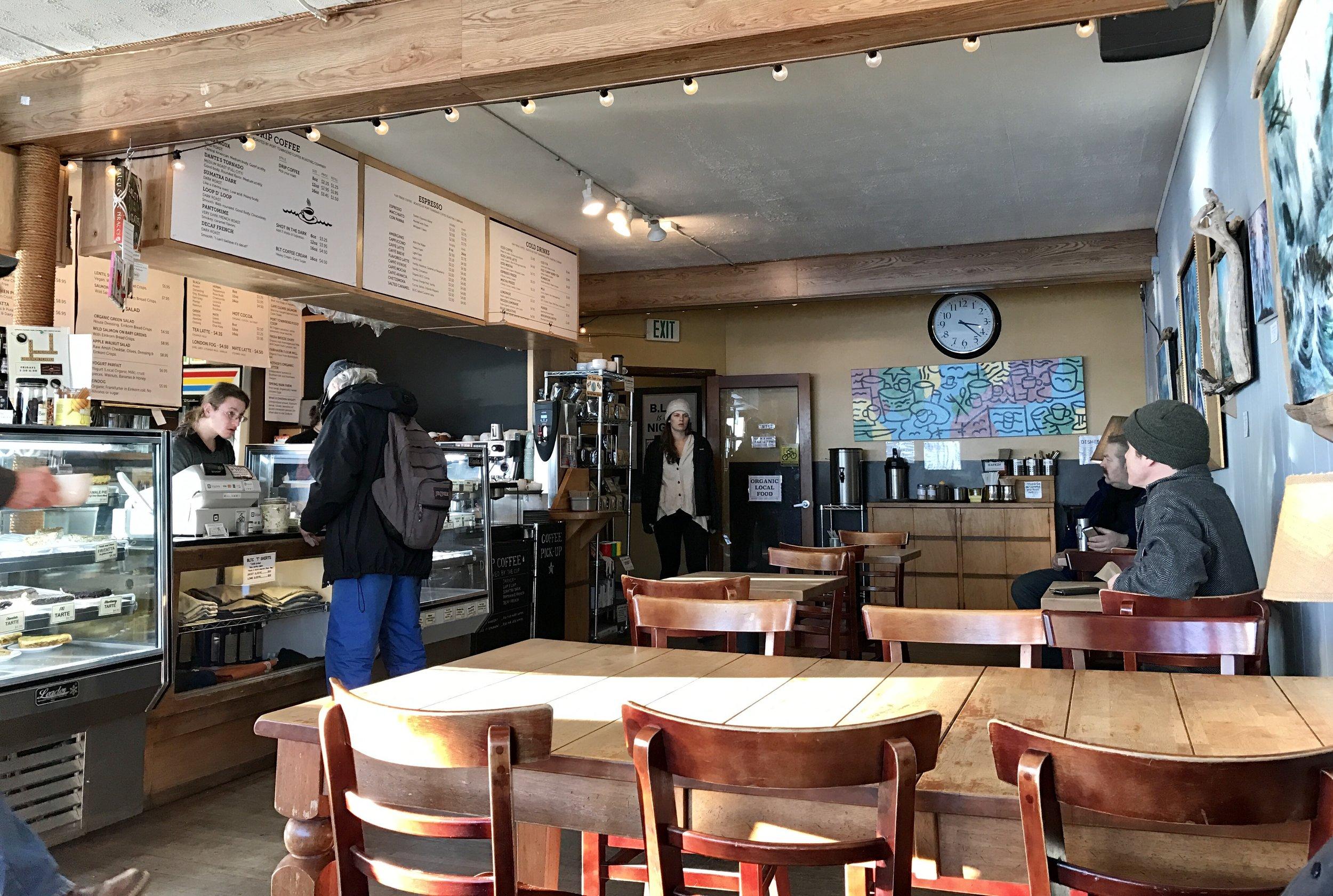 Inside Better Living Through Coffee